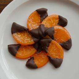 Gajos de Naranja con Chocolate 50g