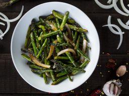 Sichuan-Style Asparagus
