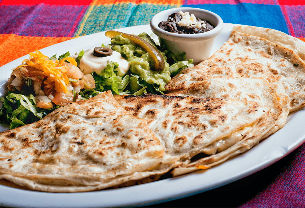 Quesadilla Pollo Mechado
