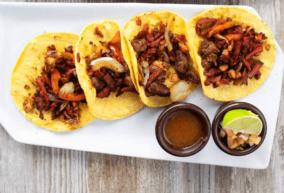 Tacos de Carne Campechana