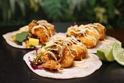 Tacos Camarón al Coco