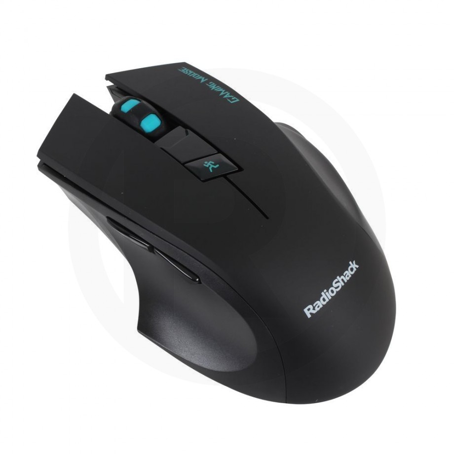 Game Mouse Wireless Black