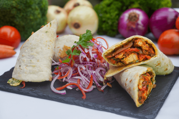 Cordero Kebab Burrito Kaathi