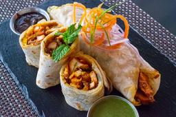 Vegetables Burrito Kaathi