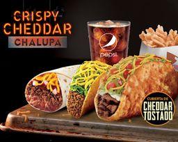 Crispy Cheddar Chalupa BBB Regular (Steak)