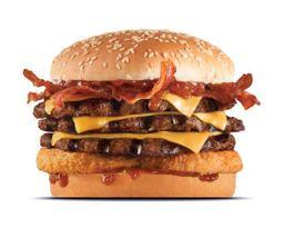 Triple Western Bacon CheeseBurger