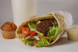 Combo Burrito Falafel Especial