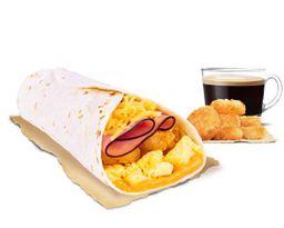 Combo Burrito Huevo Queso Jamón