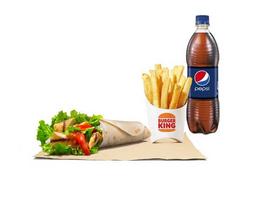 Combo Chicken Wrap