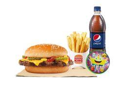 Combo Kids Jr Quesoburguesa