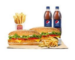 2 x 6.600: King de Pollo Americano