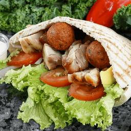 Sándwich Súper Shawarma