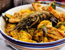 Paella de Mariscos a la Peruana