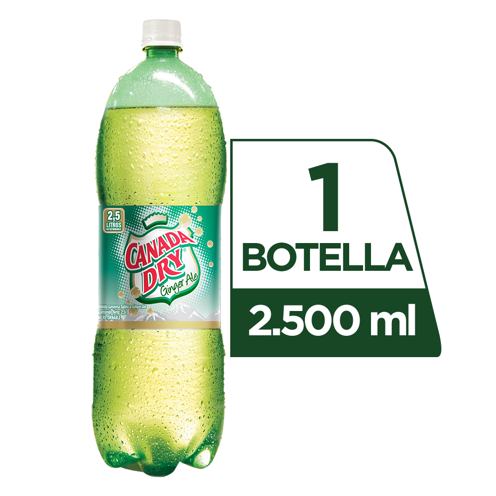 Canada Dry Ginger Ale 2.5 L