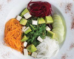 Algas Tofu Aguacate