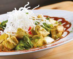 Domburi Pollo al Curry