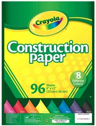 Papel construcción 96u