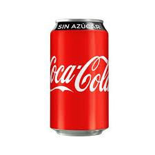 Coca Cola Sin Azúcar 354 ml