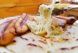 Tortilla Rellena con maduro