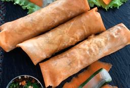 Spring Roll Vegetales y Tofu 4 pz