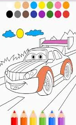 Libro Colorear Autos