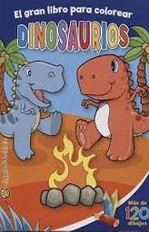 Libro Colorear Dinosaurio