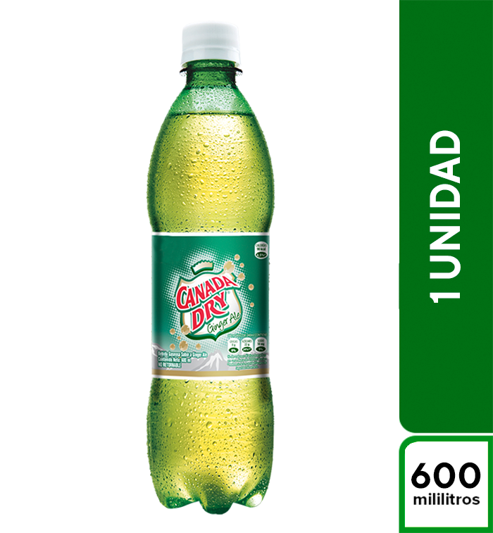 Canada Dry Ginger Ale 600 ml