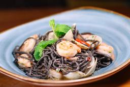 Spaghetti Nero si Sepia