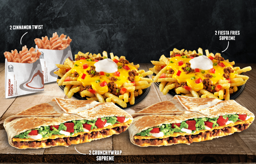2 CrunchyWrap Supreme