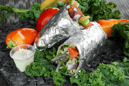 Dos Combo Falafel Wrap