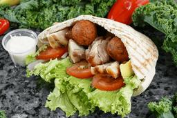 2 Combos Súper Shawarma Sándwich
