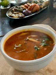 Divina Sopa de Mariscos