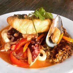 Taco Tacu del Puerto