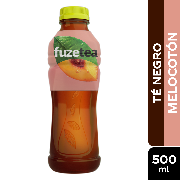 2 x Te Fuze Tea Negro Melocoton 500 mL