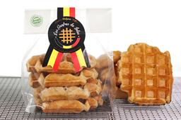 Waffle Belga Paquete 4 Unidades