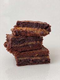 Brownie con Caramelo