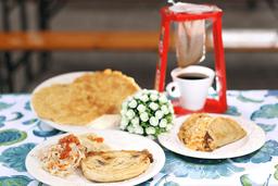 Pupusa,Taco y Tortilla en Combo