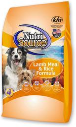 Alimento Para Perro NutriSource Adult Lamb & Rice 30 Lb