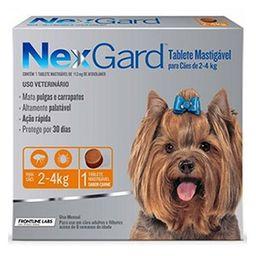 Medicamento Antipulgas Nexgard Para Perro 0 - 4 Kg 1 U