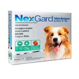 Nexgard Medicamento Antipulgas L Para Perro 10-25 Kg