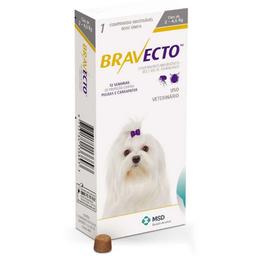 Bravecto Medicamento Antipulgas Msd Para Perro 2-4.5 Kg