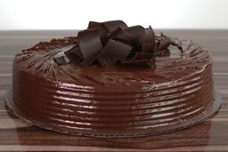 Queque de chocolate con dulce de leche (4-6 porciones)