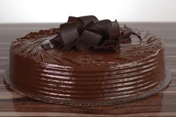 Queque de chocolate con dulce de leche (6-8 porciones)