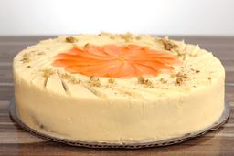 Queque de zanahoria (6-8 porciones)