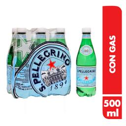 San Pellegrino Agua Mineral 6U