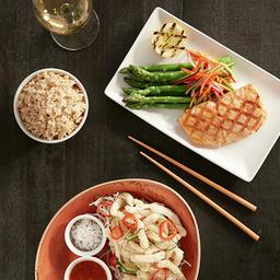 Asian Grilled Salmón