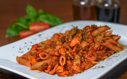 Spaghetti ó Penne Alla Amatriciana