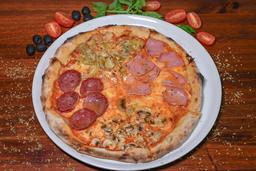 Pizza 4 Stagioni Pequeña