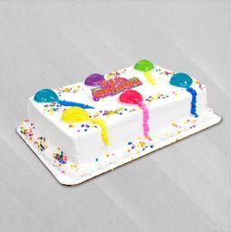 Pastel Rectangular Pequeño de Celebración