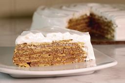 Porción de Torta Chilena